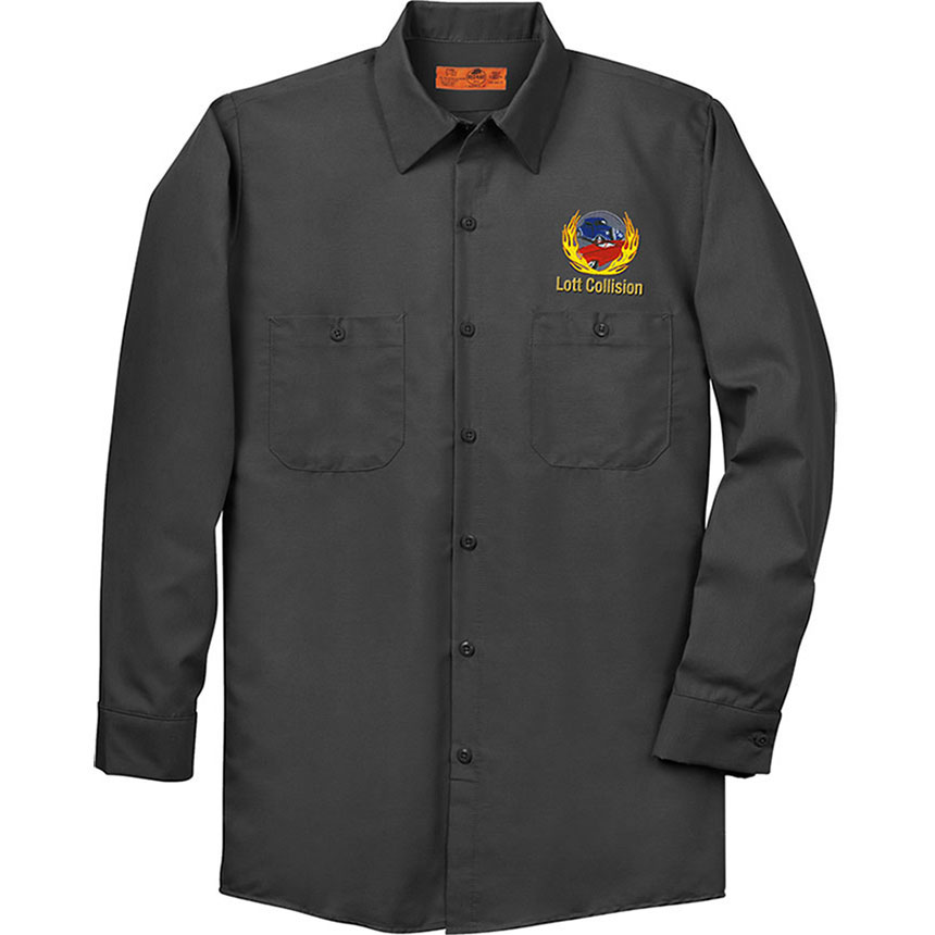RedKap Work Shirt LS Industrial