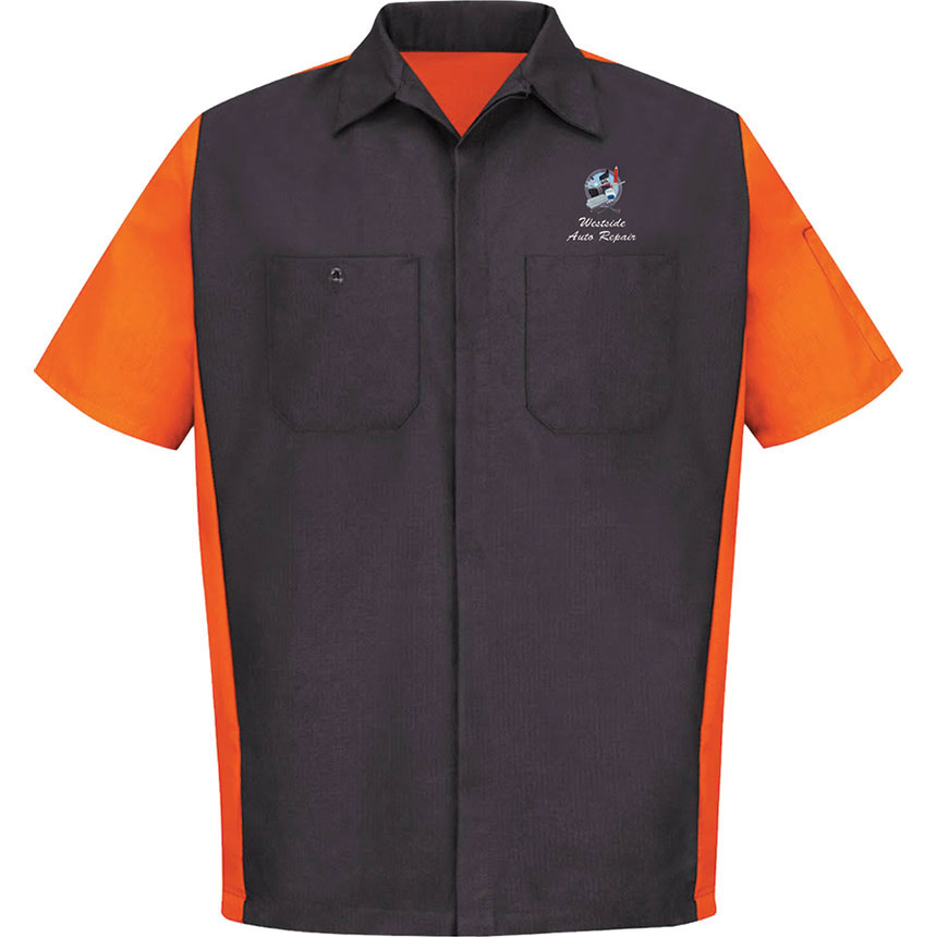 RedKap Work Shirt SS Ripstop Crew