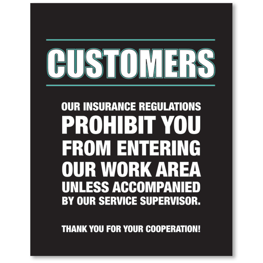Contemporary Signs - Insurance