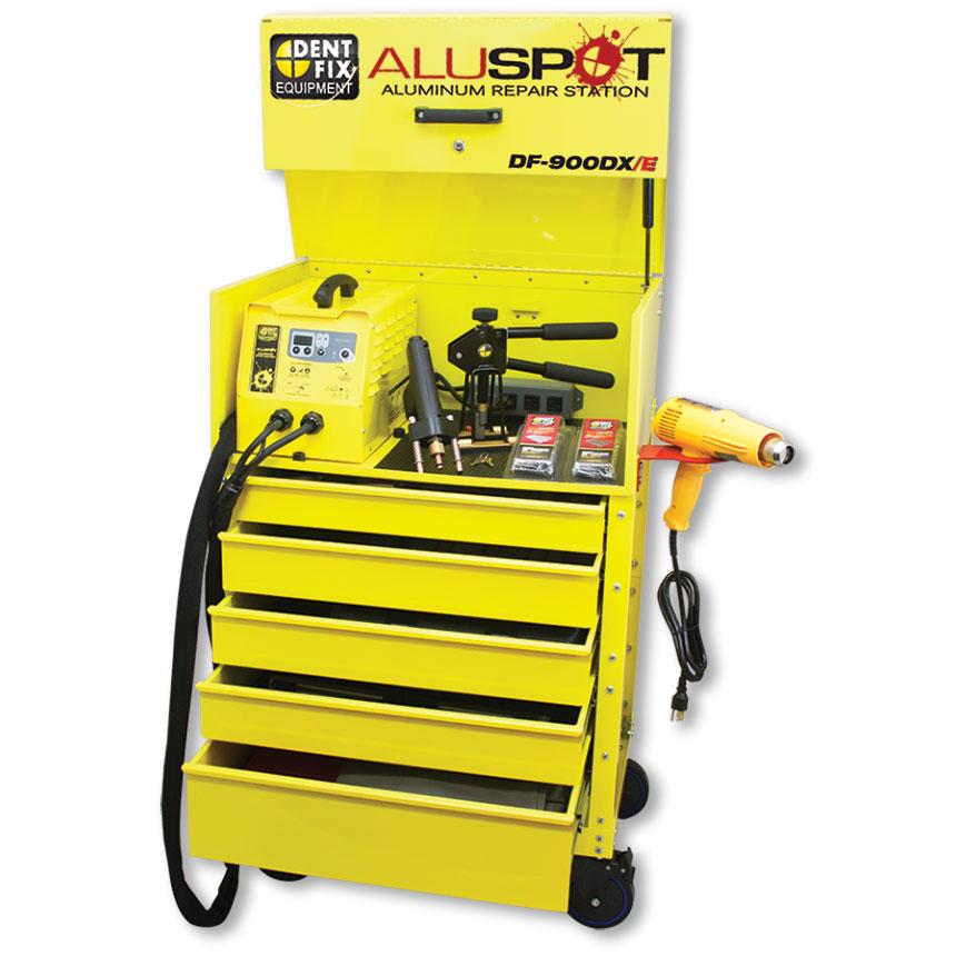 Dent Fix Deluxe Aluspot® Extended Aluminum Repair Station DF-900DXE