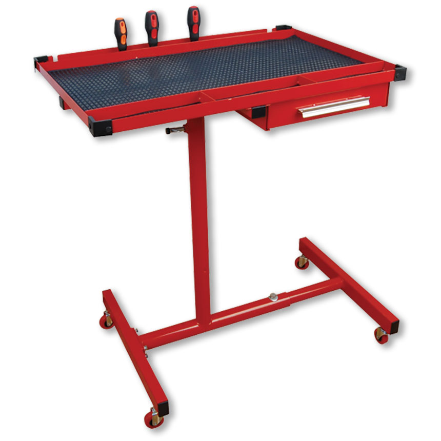 Mobile Work Table with Drawer