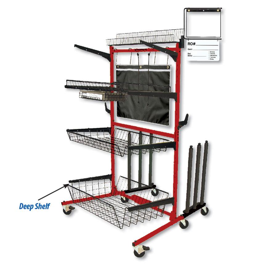 "Parts Caddy PRO Deep Shelf Kit 9"" by PROLific™"