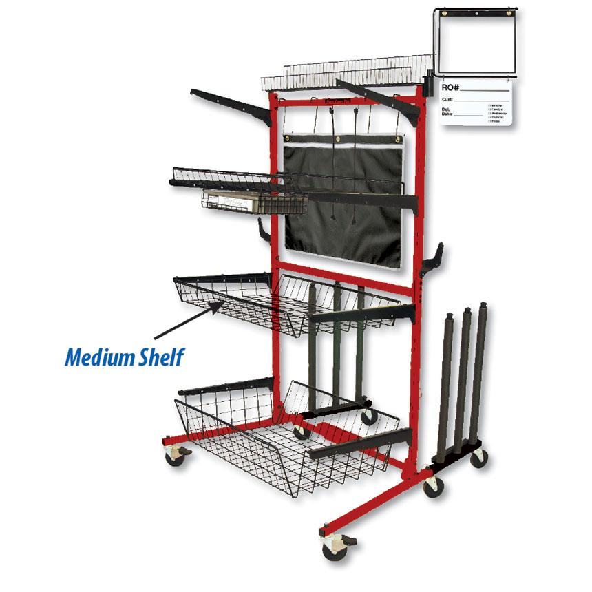 "Parts Caddy PRO Medium Shelf   4"" Deep by PROLific™"