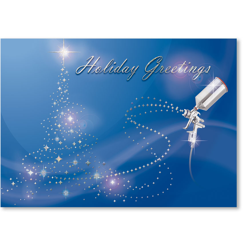 Personalized Full-Color Holiday Postcard - Holiday Magic