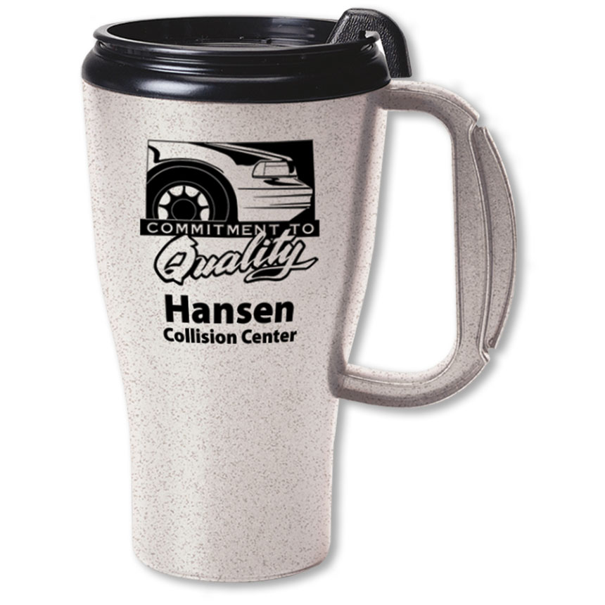 Travel Mug with Slider Lid