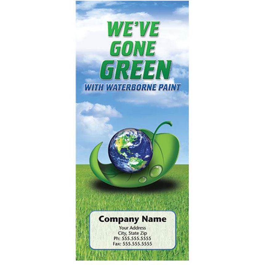 Auto Repair Brochures - Go Green Waterborne Paint