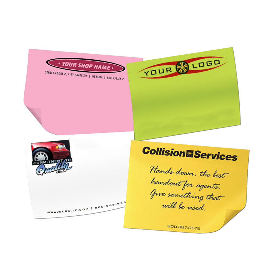 """Full-Color Post It Notes 3"""" x 4"""" - 50 Sheets"""