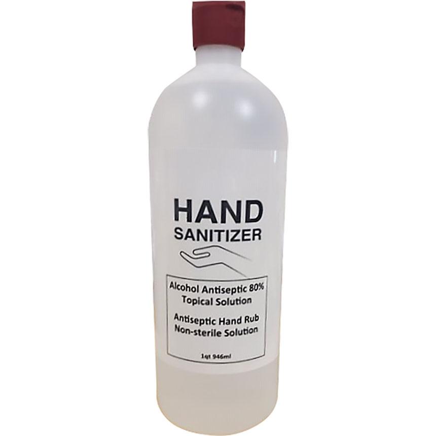 Liquid Form Hand Sanitizer 32 oz. Bottle