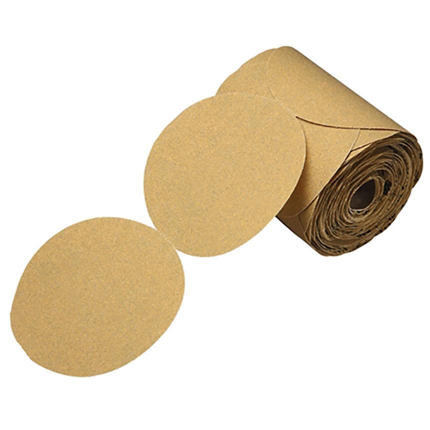 "3M™ Stikit 5"" Gold Disc Rolls, 175 Discs/Roll P320 01420"