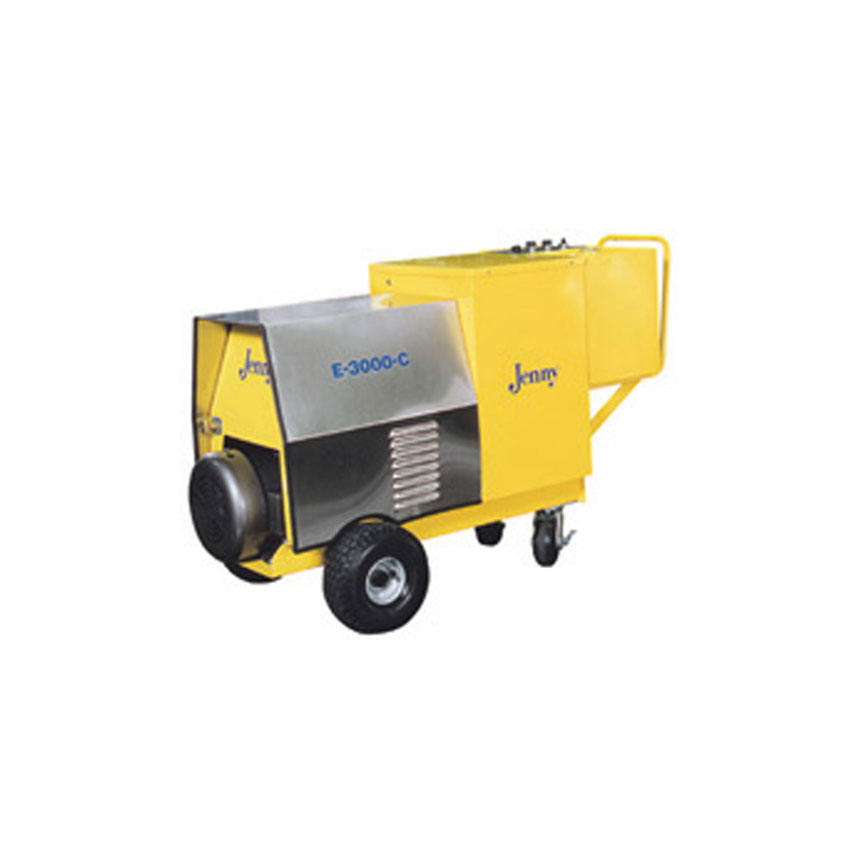 Steam Jenny Electric 3000 PSI at 4 GPM Pressure Washer / 90 GPH Steam Cleaner, 460V - 3 Phase E-3000-C
