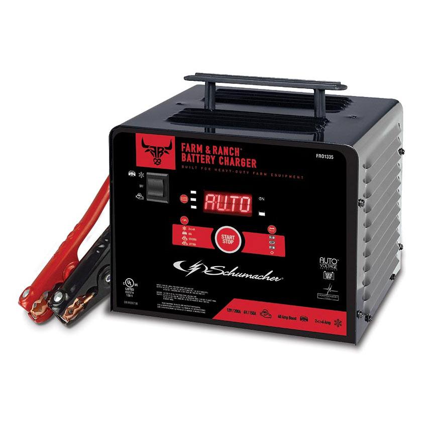 Schumacher 6V/12V 200A Battery Charger/Engine Starter FR01335