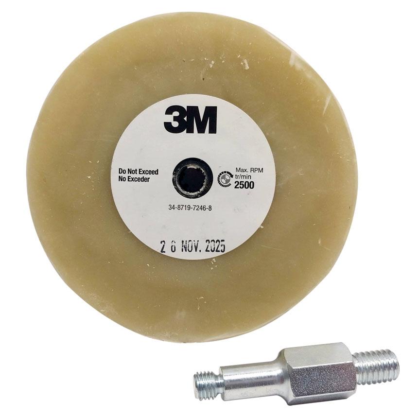 """3M™ 4"""" Adhesive Eraser Wheel 03612"""