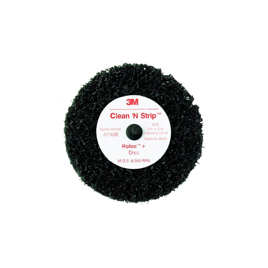 3M™ Scotch-Brite Roloc + Clean & Strip Disc Black 07466