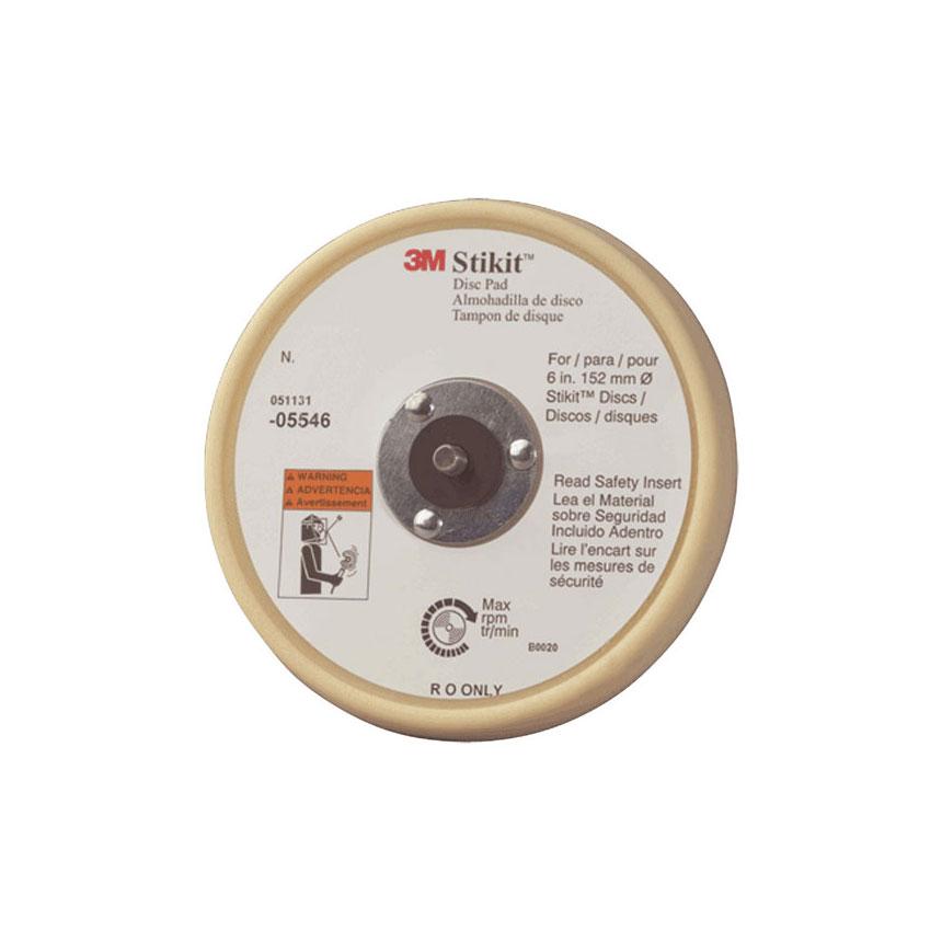 "3M™ Stikit Low Profile 6"" Finishing Disc Pad 05546"