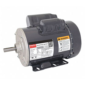 Dayton Fan Motor, 1HP, 1725RPM, 1-Phase