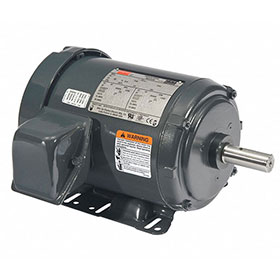 Dayton Fan Motor, 1HP, 1755RPM, 3-Phase