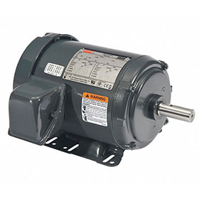 Dayton Fan Motor, 2HP, 1750RPM, 3-Phase