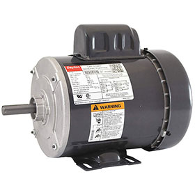 Dayton Fan Motor, 3/4 HP, 1725RPM, 1-Phase