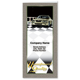 Custom Foil Auto Document Holders with 2 Pockets - Unsurpassed Quality