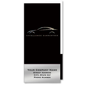 Custom Foil Auto Document Holders with 2 Pockets - Excellence Guaranteed III