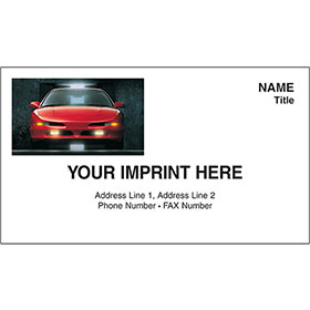 Full-Color Auto Repair Business Cards - Ford Probe