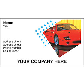Full-Color Auto Repair Business Cards - F-40