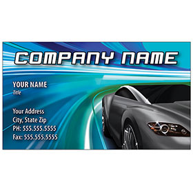 Full-Color Auto Repair Business Cards - Freeway Lights