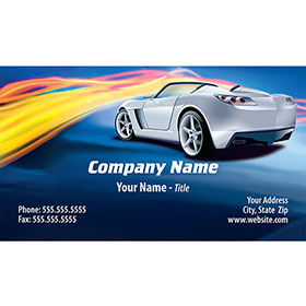 Full-Color Auto Repair Business Cards - Street Streak