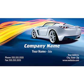 Full-Color Auto Repair Business Cards - Street Streak
