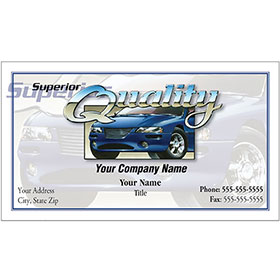 Auto Repair Business Cards - Superior Quality