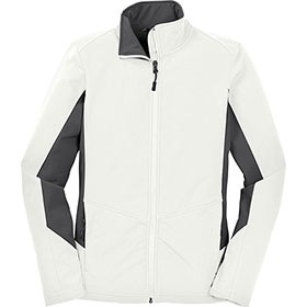 P/A Jacket Ladies Core Colorblock Soft Shell