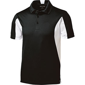 S/T Sport Ladies Side Blocked Micropique Buttoned Polo Shirt