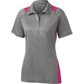 S/T Sport Ladies Heather Colorblock Contender