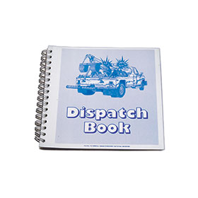 Towing Dispatch Book, 2-Part Carbonless
