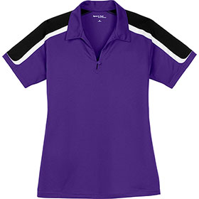 S/T Sport Ladies Tricolor Shoulder Micropique Sport-Wick