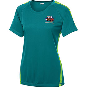 S/T T-shirt Ladies Colorblock PosiCharge Competitor