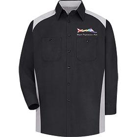 RedKap Work Shirt LS Motorsports Image