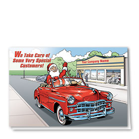 Double Personalized Full-Color Holiday Cards - Special Customers