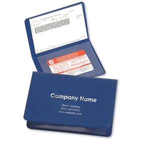 Folding Proof of Insurance Holder (250)