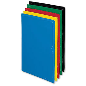Plastic Sleeves Assorted Colors