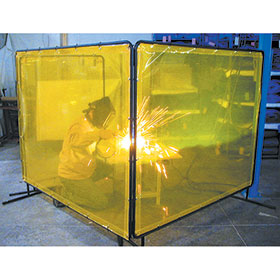 Automotive Welding Screens by Goff's Curtain Walls - 5x5