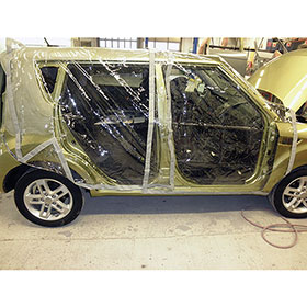 "Pro-Tech-It Magnetic Car Cover 80"" x 110"""