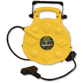 Bayco 50' Triple-Tap Retractable Cord Reel SL-8903