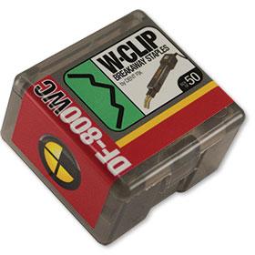 Dent Fix W-Clip Breakaway Staples (50) DF-800WC50