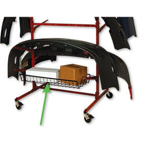 Mega Bumper Mobile Rack - Basket