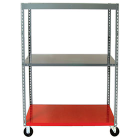 Parts Caddy with Metal Shelf