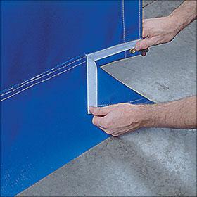 Goff's Original Curtain Station - Floor Sweep Attachment