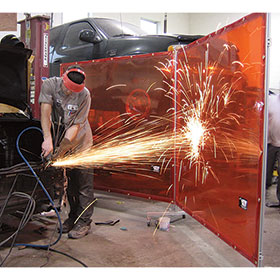 Tuff Welding Screen by Goff 6x8
