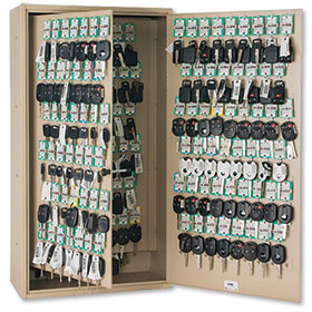Fob-Friendly 60-Key Storage Cabinet