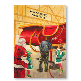 Double Personalized Full-Color Holiday Postcard - Special Job